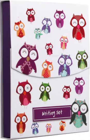 Schreibset »Wise Owls«.