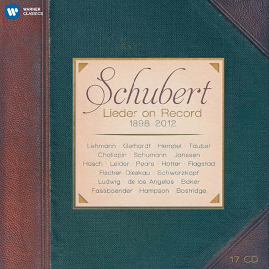 Schubert Lieder on Record 1898-2012  17 CDs