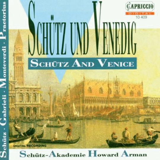 Schütz und Venedig. Schütz-Akademie. CD.