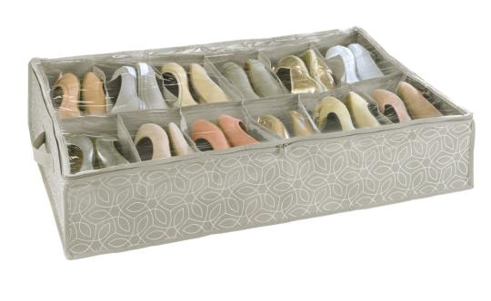 Schuh-Unterbettkommode.