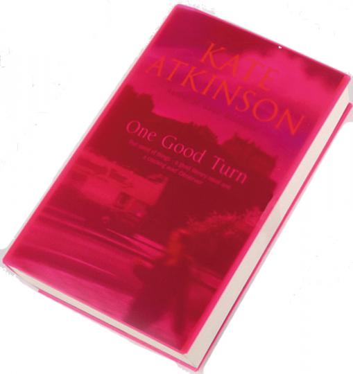 Schutzhülle für Taschenbücher »Cover Up«, pink.