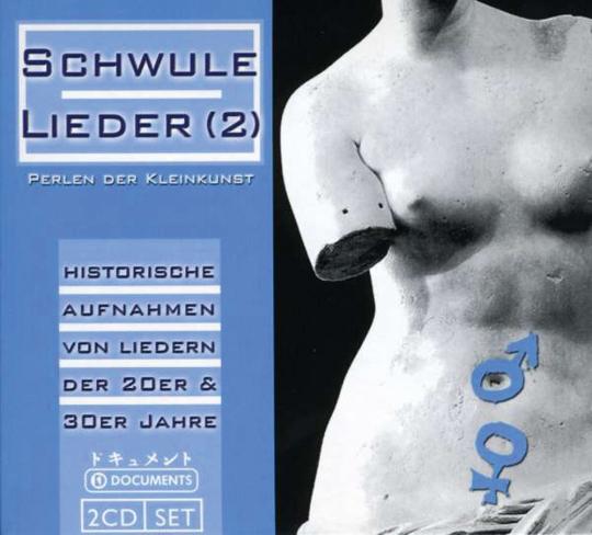Schwule Lieder 2. Perlen der Kleinkunst. 2 CDs.