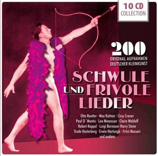 Schwule und frivole Lieder. 10 CDs.