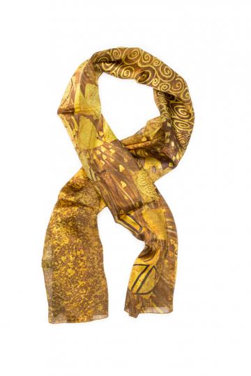 Seidenschal Gustav Klimt »Adele«.