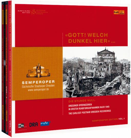 Semperoper Edition - Gott, welch Dunkel hier 3 CDs & DVD