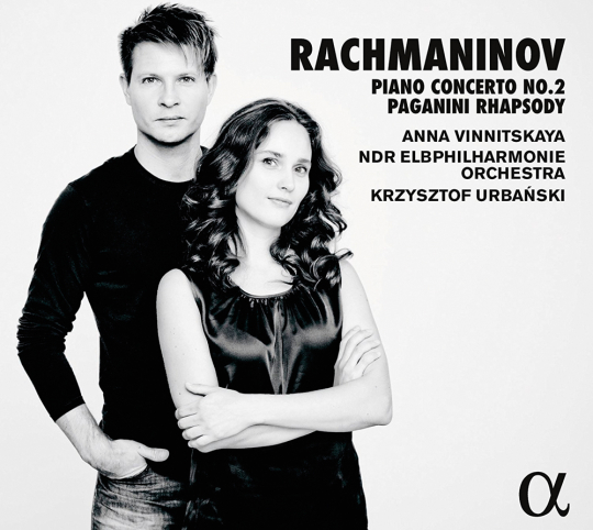 Sergej Rachmaninoff. Klavierkonzert Nr. 2 & Paganini-Rhapsodie. CD.