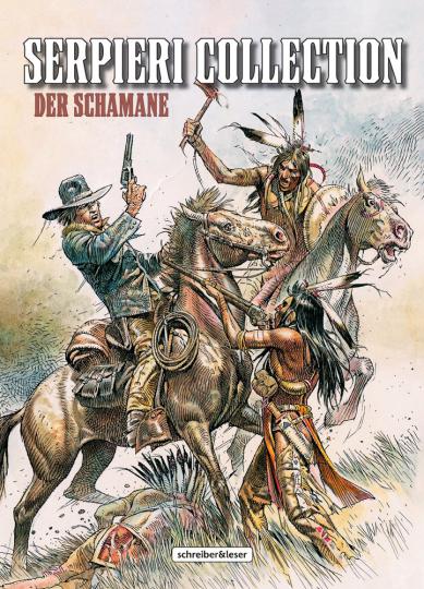 Serpieri Collection Western 2. Der Schamane. Comic.