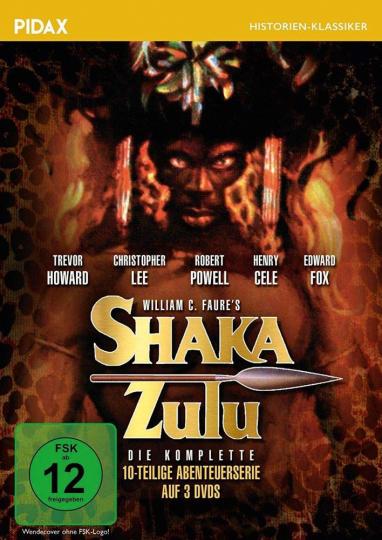 Shaka Zulu (Komplette Serie). 3 DVDs.