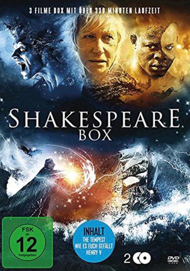 Shakespeare-Box. 2 DVDs.