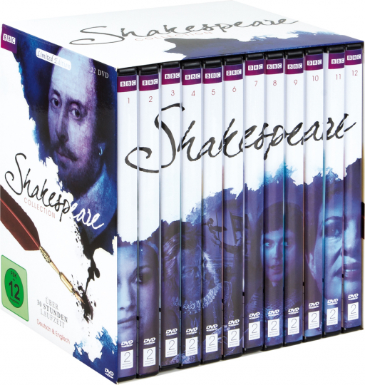 Shakespeare Collection 12 DVDs.