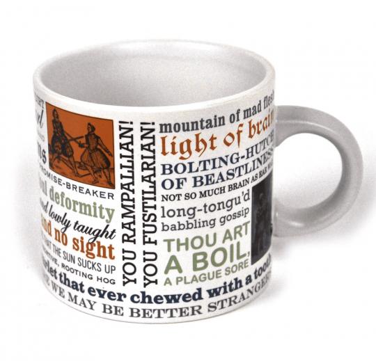 Kaffeebecher »Schimpfen wie Shakespeare«.