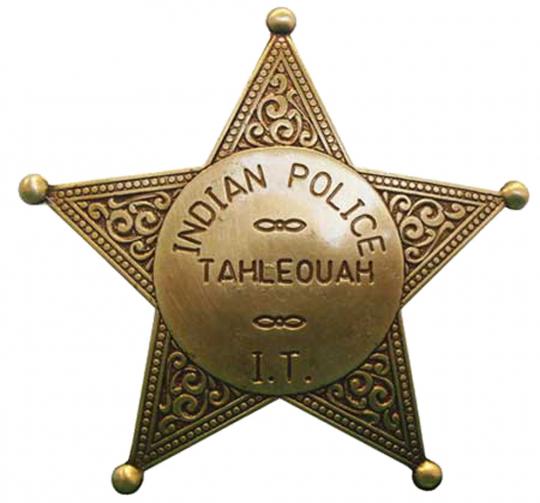Sheriffstern Indian Police Tahlequah
