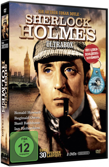 Sherlock Holmes - Gigantenbox. 7 DVDs.