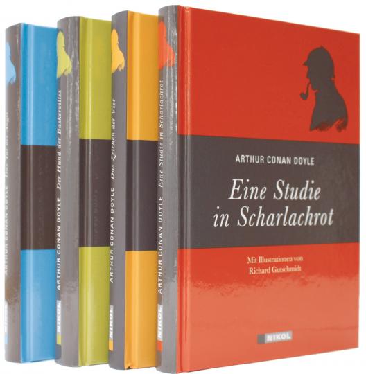 Sherlock Holmes Romane 4 Bände