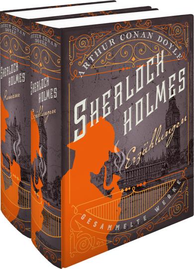 Sherlock Holmes. Gesammelte Werke in zwei Bänden. Erzählungen & Romane.