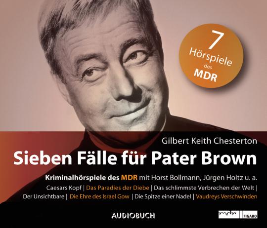 Sieben Fälle für Pater Brown. 7 CD-Set.