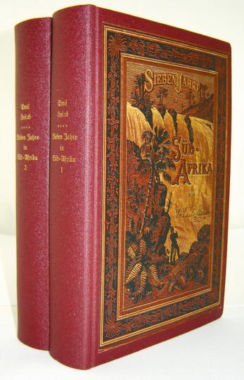 Sieben Jahre in Südafrika 2 Bände - Limitiert auf 300 Exemplare und nummeriert!
