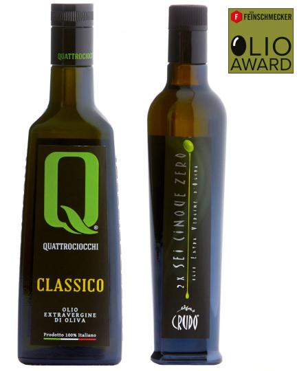 Sieger Olivenöl-Set »2 x Platz 1«.
