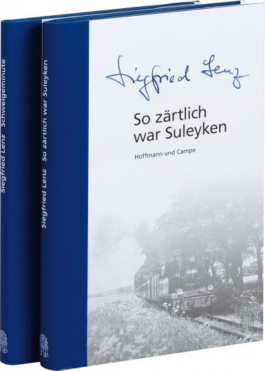 Siegfried Lenz. Schweigeminute und So zärtlich war Suleyken. 2 Bände im Set.