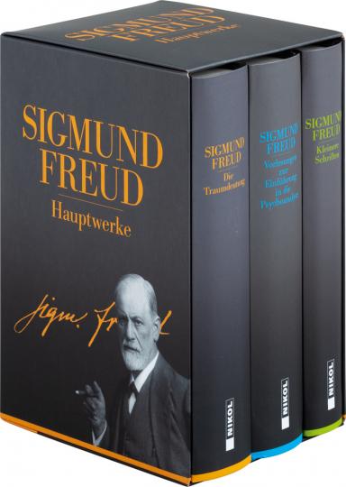 Sigmund Freud. Hauptwerke. 3 Bände im Schuber.
