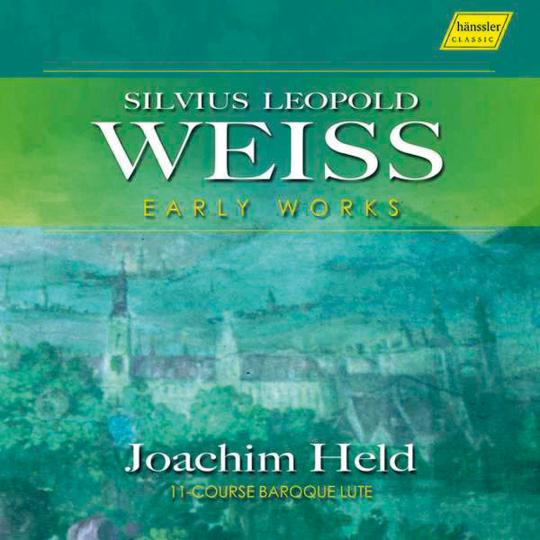 Silvius Leopold Weiss. Frühe Lautenwerke. CD.