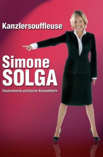 Simone Solga : Kanzlersouffleuse DVD