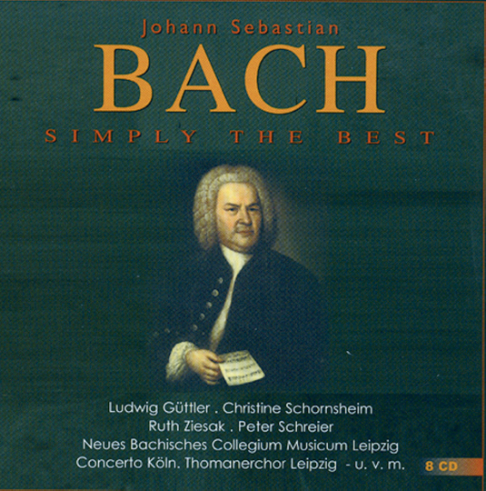 Bach - Simply the Best 8 CDs