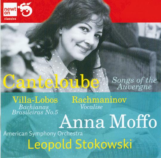 singt Canteloube, Villa-Lobos und Rachmaninov  CD