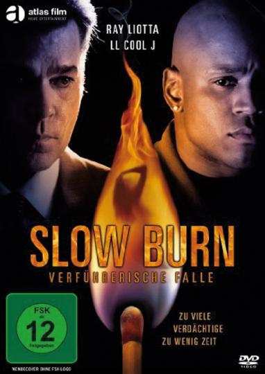 Slow Burn - Verführerische Falle. DVD.