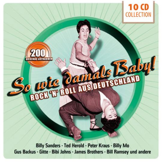 So wie damals Baby! Rock n Roll aus Deutschland. 10 CD-Set.