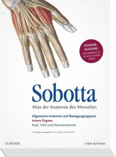 Sobotta - Atlas der Anatomie des Menschen.
