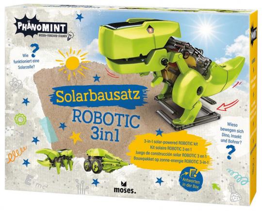 Solarbausatz Robotic 3-in-1.