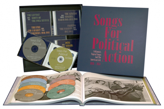 Songs For Political Action. 10 CDs.
