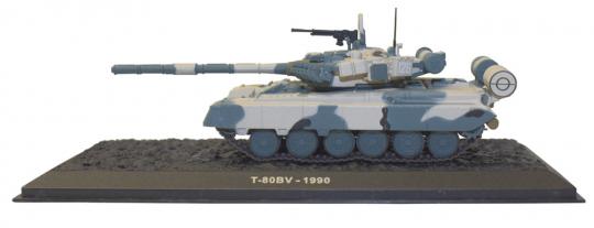 Sowjetischer Panzer T-80BV-1990 - Maßstab 1:72