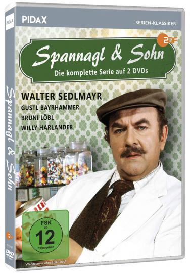 Spannagl & Sohn (Komplette Serie). 2 DVDs.