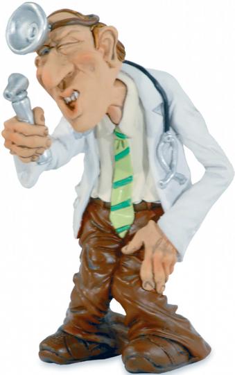 Spaß-Figur Arzt