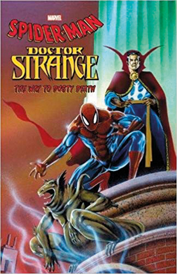 Spiderman Doctor Strange: The Way to dusty Death. Comic.