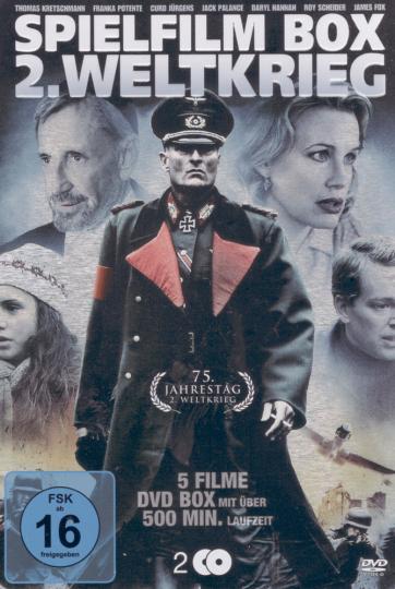 Spielfilm Box 2. Weltkrieg 2 DVDs