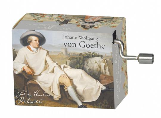 Spieluhr »Goethe«.