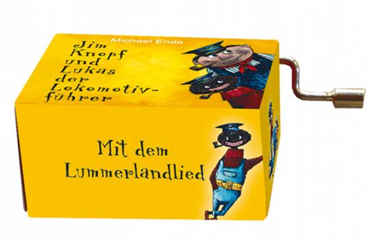 Spieluhr »Jim Knopf und Lukas der Lokomotivführer«.