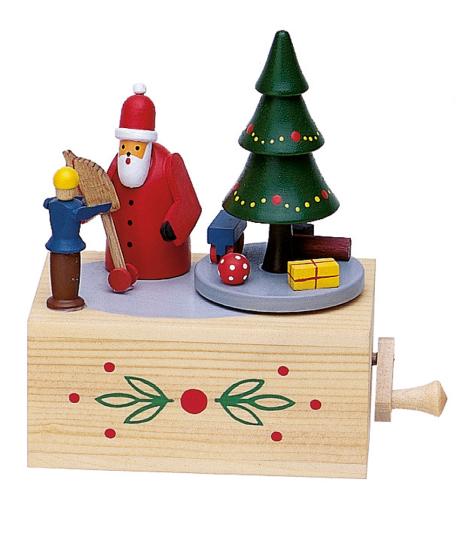 Spieluhr »Weihnachtsmann«, Oh Tannenbaum.