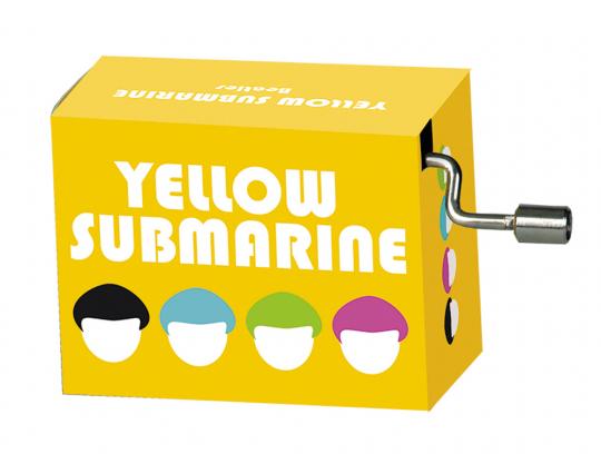 Spieluhr »Yellow Submarine«.