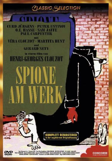 Spione am Werk. DVD.