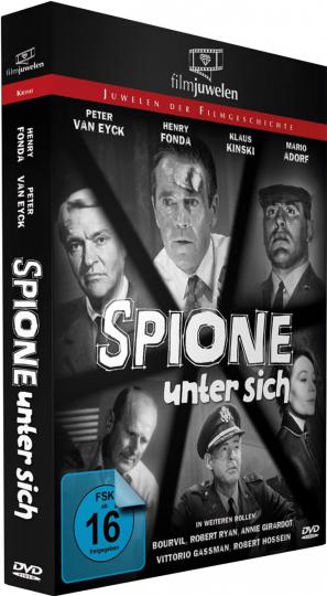 Spione unter sich. DVD.