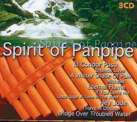 Spirit of Panpipe 3 CDs