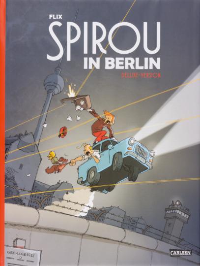 Spirou & Fantasio Spezial: Spirou in Berlin. Deluxe Version mit signiertem Druck.