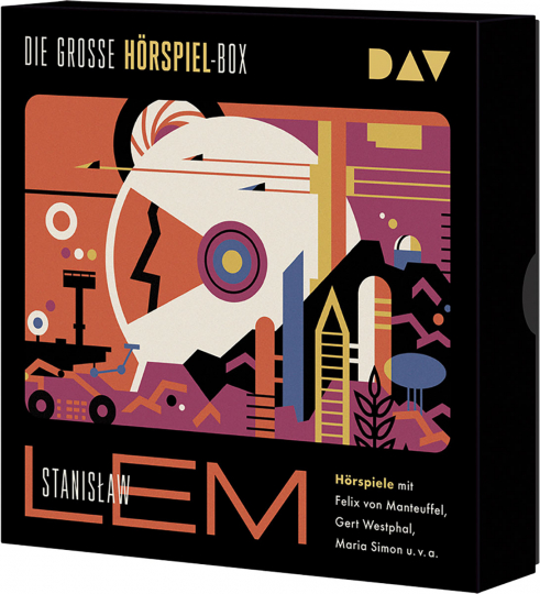 Stanislaw Lem. Die große Hörspiel-Box. 8 CDs.