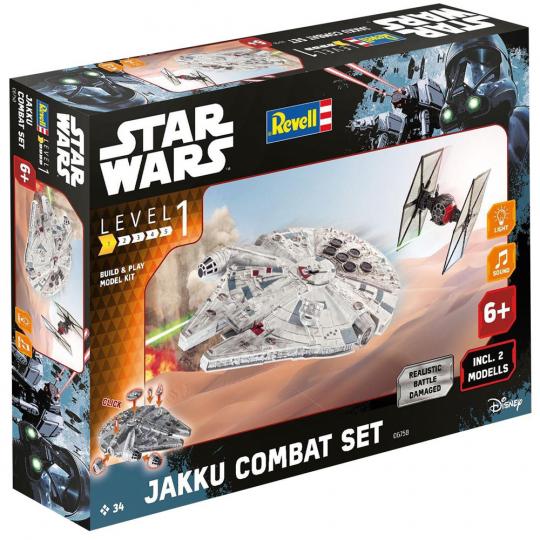Star Wars. Jakku Combat Set. Revell Modellbausatz. Maßstab 1:51.