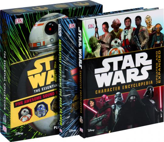Star Wars. The Essential Collection. 2 Bücher und ein Klappposter.