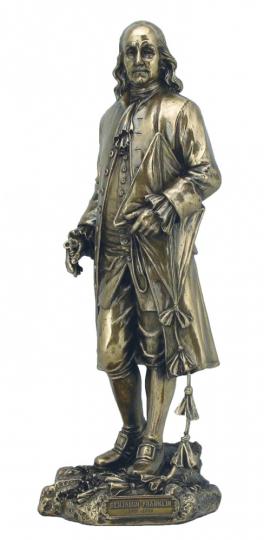 Statue Benjamin Franklin.